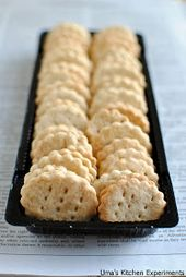 Indian Curry Trail: Homemade Ritz Crackers