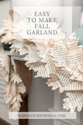 Leicht zu Fall Garland machen