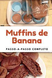 Receita: Muffin de Banana e Canela Funcional   – pasta da mamãe