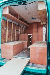 Mehr als 30 außergewöhnliche Ideen für den Umbau von Wohnmobilen als Inspiration   – Kastenwagen in wohnmobil umbau