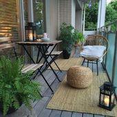 10 erstaunliche kleine Wohnungs-Balkon-Ideen