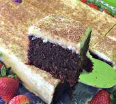Dieser einfache Einkorn-Schokoladen-Blechkuchen ist wohl der dichteste und leckerste …   – Food