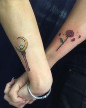 Sailor Moon Tattoos | OK POPSUGAR Tech Photo 30 – body adornments