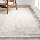 Arviso Handmade Braided Wool Off White Area Rug In 2020 Area