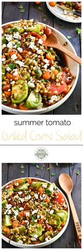 Summer Tomato and Grilled Corn Salad