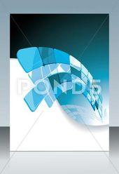 Blue technological banner. vector illustration Stock Illustration #AD ,#banner#technological#Blue#vector