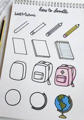 DIY Cuadernos Kritzeleien - # Doodles # Zeichnung - # Doodles # Plump # Zeichnung - #doodles #...