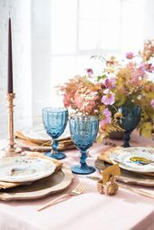 Thanksgiving Table Decor – Colorful Place Setting Ideas