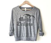 Mother of Dragons Women's Pullover by So Effing Cute – USA – inspired by Game of Thrones