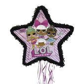 LOL Surprise Pinata, Pull-String, 22.5 x 21.5 in, 1ct – Dallis Birthday