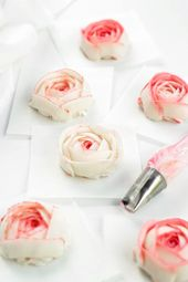How to Make Stunning Buttercream Ranunculus with Video – yummy cake
