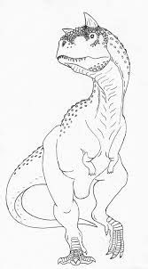 Coloring Page Carnotaurus Coloring Pages Christmas Coloring