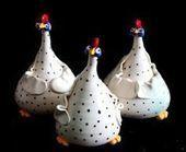Idee für eine Flasche Hope Chookies – Pappmaché – #chookies #a #bottle … -…..   – Keramische Kunst