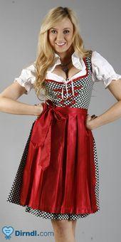 Jule   – Wir ♥ Dirndl in Rot – #Dirndl #Jule #Rot #Wir – Oktoberfest Fotos und Pins