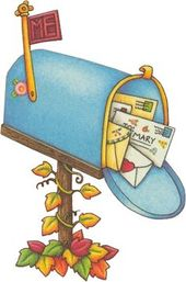Free Mailbox Clipart Pictures Clipartix Mary Engelbreit Mary Clip Art