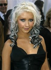 Christina Aguilera.  A George Vreeland Hill pin.
