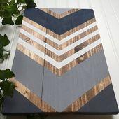 Geometric Wood Wall Art Geometric Wood Art Reclaimed Wood