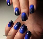 30+Creative Navy Nail Art Designs to Inspire You