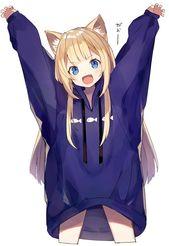 Kawaii Anime Girl, Catgirl, Character Illustration, Anime Love | Japanese Anime …
