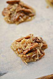 ¡Las MEJORES galletas sin hornear keto! Idea de galleta de caramelo con ceto bajo en carbohidratos – Sin azúcar – …