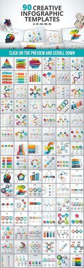 Paquete de plantilla de infografía – Creative Business, Marketing Design Template – by   – Grafik Design