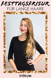 Glam it up! This is the most beautiful party hairstyle for long hair