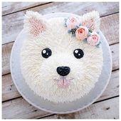 Dog Cake Ideen für Geburtstage Pinterest Best Vid…