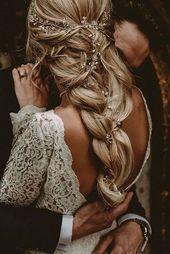 boho hochzeitsfrisuren böhmische barid mit-zubehör carlablain fotografie #ILoveWeddings #weddingmakeup – Derya