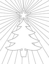 Free Printable Christmas Coloring Pages – Paper Trail Design