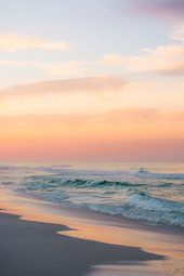 Sonnenaufgang am Strand #Fotografie #Nikon #Strand #Sonnenaufgang   – photograph… – Elena Root