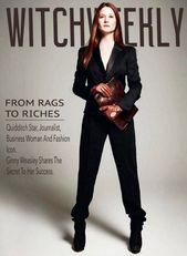 Harry Potter Fan Makes Amazing Mockups Of Witch Weekly Magazine Harry Potter Witch Harry Potter Fan Art Ginny Weasley