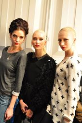 Berlin Fashion Week 2013: Backstage with Lena Hoschek   – GLAMOUR GERMANY –  #