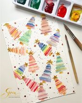 🎨 Watercolorist: @sisondesigns #waterblog #ак…