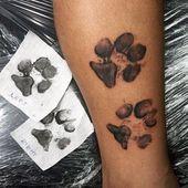 Los 60 mejores tatuajes de huellas para hombres: ideas de diseño de tinta   – Tattoos