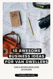 10 Awesome Business Ideas for Van Life