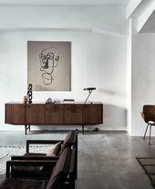 Junggesellen-Wohnungs-Dekor schlagen einen abenteuerlichen Geist vor, der hier lebt