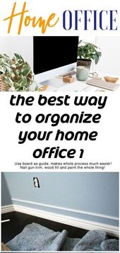 The best way to organize your home office 1