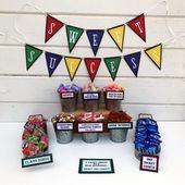 Graduation Candy Bar Sign - Candy Bar Banner - Sweet Success - Candy Buffet Sign - Graduation Favors - Graduation Party Favor-Dessert Table