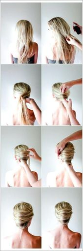 30 simple 5 minute hairstyles for women