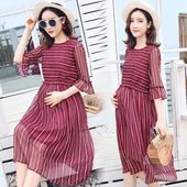 Elegant Woman Maternity Dress Summer 2018 Fashion Pregnancy Clothes For Pregnant…