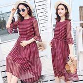 Elegant Woman Maternity Dress Summer 2018 Fashion Pregnancy Clothes For Pregnant…