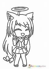 Gacha Life Coloring Pages Lineart Cartoon Coloring Pages Cute Coloring Pages Colorful Drawings