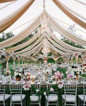 Stilvolle Hochzeitsdeko Trends durch den Sommer inspiriert – Wedding