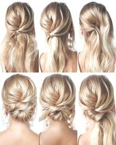 Gorgeous and Easy Homecoming Hairstyles Tutorial Long Hair  #frisyrer #Frisuren …