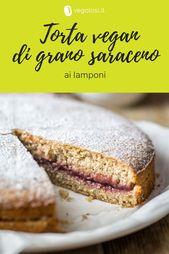 Photo of Vegan raspberry gluten-free buckwheat cake – Veg …