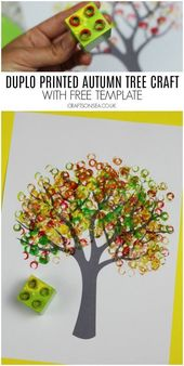 Autumn Tree Painting Ideas for Kids – #Autumn #Concepts #youngsters #Portray #Tr…