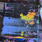 Psychedelic Poured Acrylic   – Art ist gut