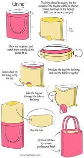 Dare to DIY auf Englisch: DIY Tutorial: Wie man eine Einkaufstasche macht