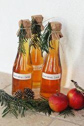Selbstgemachter Bratapfel Likör zu Weihnachten – Trend Kitchen