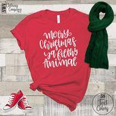 Photo of Frohe Weihnachten Ya Filthy Animal Shirt – Familienweihnachtshemd Buffalo Plaid Shirt – Weihnachten